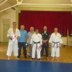 Black belt grading 3rd October 2010