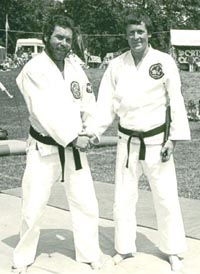Sensei Connelly and Sensei McDade